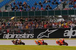 Casey Stoner, Repsol Honda Team, Dani Pedrosa, Repsol Honda Team and Alvaro Bautista, Honda Gresini