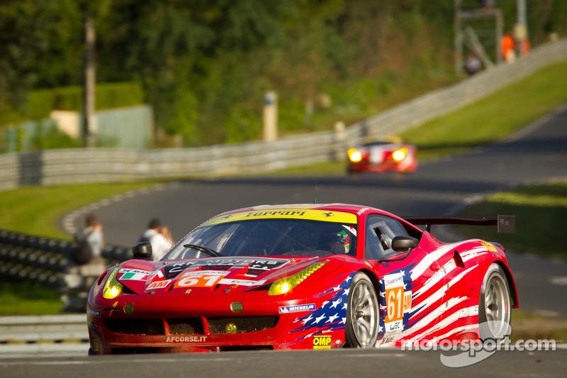 #61 AF Corse-Waltrip Ferrari F458 Italia: Robert Kauffman, Rui Aguas, Brian Vickers
