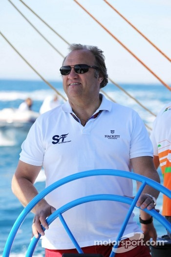 Bob Fernley, Sahara Force India F1 Team Deputy Team Principal on the Aethra America's Cup Boat