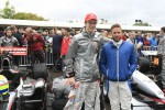 Oliver Turvey and Nick Heidfeld