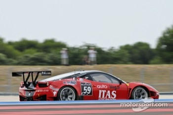 #59 Vita4One Team Italy Ferrari 458 Italia: Jay Palmer, Andrea Barlesi, Alessandro Bonetti