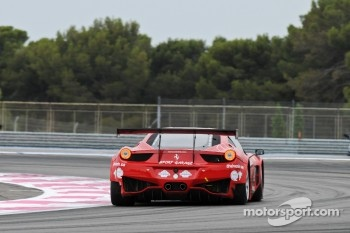 #42 Sport Garage Ferrari 458 Italia: Kevin Despinasse, Emmet O'Brien, Arno Santamato