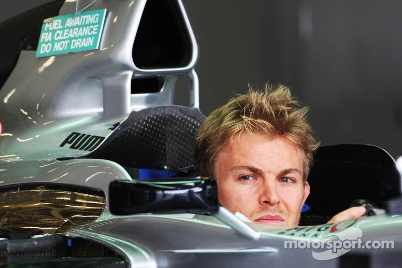 Nico Rosberg, Mercedes Mercedes AMG F1 W03