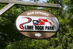 Lime Rock signage