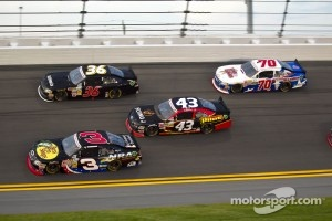 Action during the Daytona International Speedway race in July, 2012