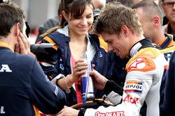 Polesitter Casey Stoner, Repsol Honda Team
