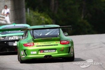 #33 Green Hornet Racing Fusion Porsche 911 GT3 Cup: Peter LeSaffre, Anthony Lazzaro