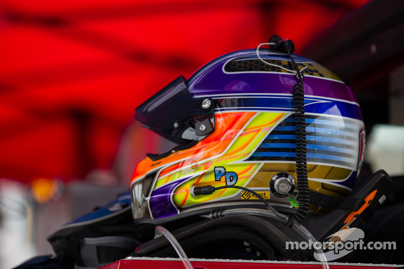 Patrick Dempsey's helmet
