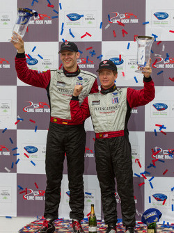 GT Winners Jörg Bergmeister and Patrick Long