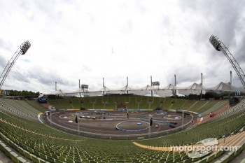 Atmosphere Of The Track Inside The Olympic Stadium