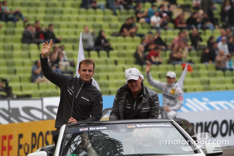 Jamie Green, Team HWA AMG Mercedes, AMG Mercedes C-Coupe Ralf Schumacher, Team HWA AMG Mercedes, AMG Mercedes C-Coupe