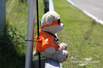 Marshals' teddybear