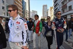 Autograph session, Alberto Cerqui, BMW 320 TC, ROAL Motorsport and his girlfriend