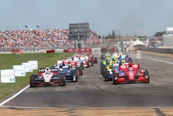 Indy Start Grid Formation