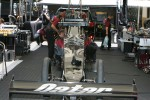 Work on the Al-Anabi Racing Top Fuel Dragster