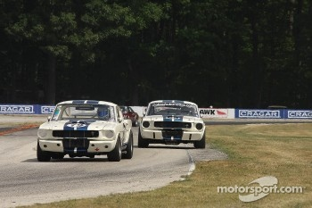 #79 1965 Shelby GT350: Steve Hughes #98 1966 Shelby GT350: Gary Moore 