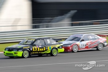 Ford Sierra RS500 and Honda Accord