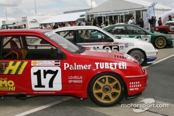 Touring cars in the Paddock