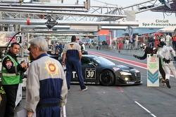 #30 GT3 Racing Audi R8 LMS: Peter Belshaw, Craig Wilkins, Aaron Scott, Phil Keen