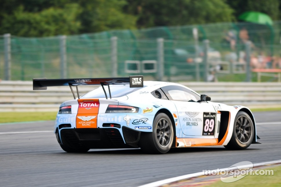 #89 GPR AMR Aston Martin V12 Vantage GT3: Tim Verbergt, Damien Dupont, Ronnie Latinne, Bertrand Baguette