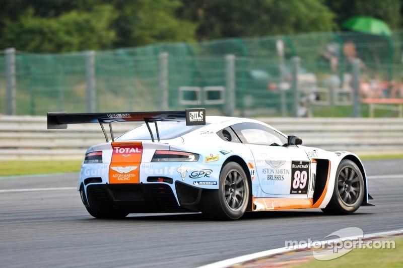 #89 GPR AMR Aston Martin V12 Vantage GT3: Tim Verbergt, Damien Dupont, Ronnie Latinne, Bertrand Baguette