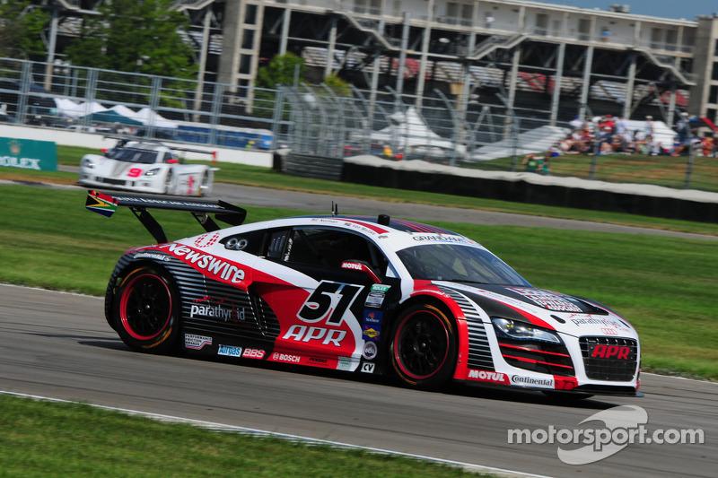 #51 APR Motorsport Audi R8 GRAND-AM: Dion von Moltke, Jim Norman