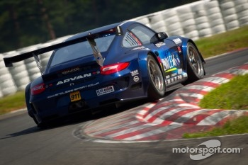 #911 Team Taisan Endless Porsche 997 GT3: Kyosuke Mineo, Naoki Yokomizo