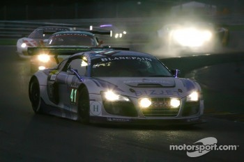 #41 Sainteloc Racing Audi R8 LMS: Pierre Hirschi, Robert Hissom, Marc Sourd