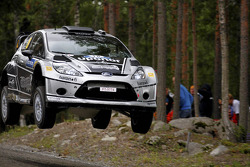 Matti Rantanen and Mikko Lukka, Ford Fiesta RS WRC