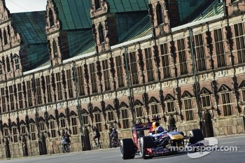 David Coulthard in the Red Bull F1