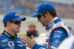 Ricky Stenhouse Jr. and Elliott Sadler