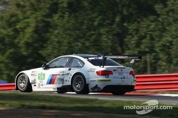#56 BMW Team RLL BMW E92 M3: Joey Hand, Dirk Muller