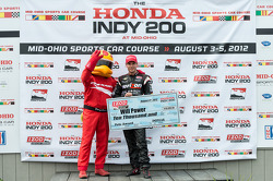 Pole winner Will Power