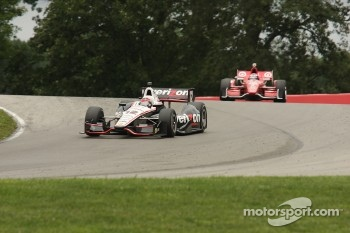 Will Power, Team Penske ChevroletScott Dixon, Target Chip Ganassi Honda