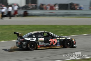 #70 SpeedSource Mazda RX-8: Jonathan Bomarito, Sylvain Tremblay