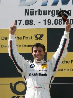 Podium, Winner Bruno Spengler, BMW Team Schnitzer BMW M3 DTM