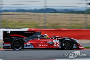 #22 JRM HPD ARX-03a Honda: David Brabham, Karun Chandhok, Peter Dumbreck
