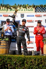 Victory lane: second place Will Power