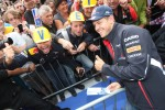 Sebastian Vettel, Red Bull Racing with fans