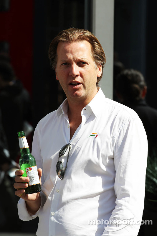 Michiel Mol, Sahara Force India F1 Team Co-Owner