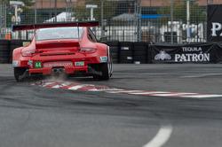 #44 Flying Lizard Motorsports: Seth Neiman, Marco Holzer