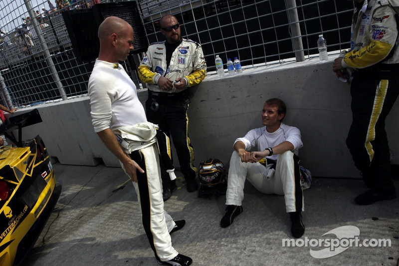 Jan Magnussen and Antonio Garcia