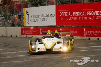 #7 Merchant Services Racing Oreca FLM09 Chevrolet: Lucas Downs, Matt Downs