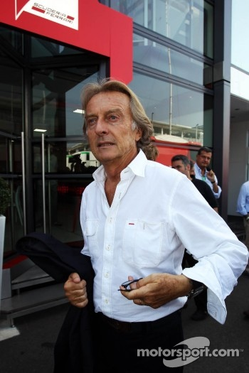 Luca di Montezemolo, Ferrari President
