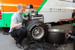 Pirelli tyres for Paul di Resta, Sahara Force India F1 worked on