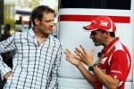 Alex Wurz, Alex Wurz, Williams Driver Mentor with Marc Gene, Ferrari Test Driver