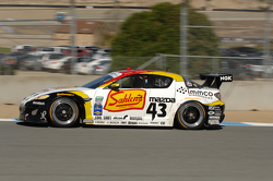 #43 Team Sahlen Theracesite.com Mazda RX-8: Dane Cameron,Wayne Nonnamaker