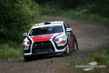Tibor Kertes and Spencer Armstrong, Mitsubishi EVO X