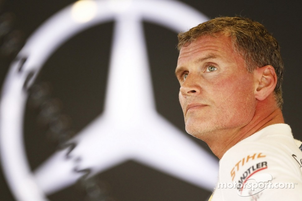 David Coulthard, Mcke Motorsport, AMG Mercedes C-Coupe
