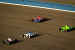 Will Power, Verizon Team Penske Chevrolet, Takuma Sato, Rahal Letterman Lanigan Honda, Graham Rahal, Service Central Chip Ganassi Racing Honda and James Hinchcliffe, Andretti Autosport Chevrolet